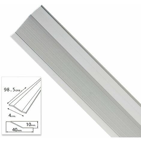 tapajuntas adhesivo para ceramica aluminio plata