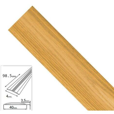 """main image of """"Tapajuntas adhesivo para moquetas metal roble 98,5 cm."""""""