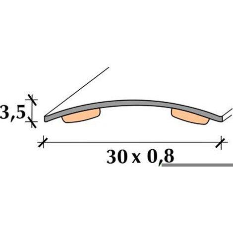 Tapajuntas Inox M/c Adh 83 - RUFETE - 11006 - 30 MM