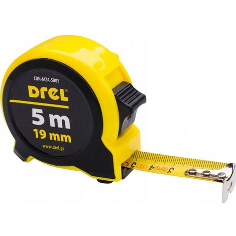 Tape measure 5 m / 19 mm, tape measure meter