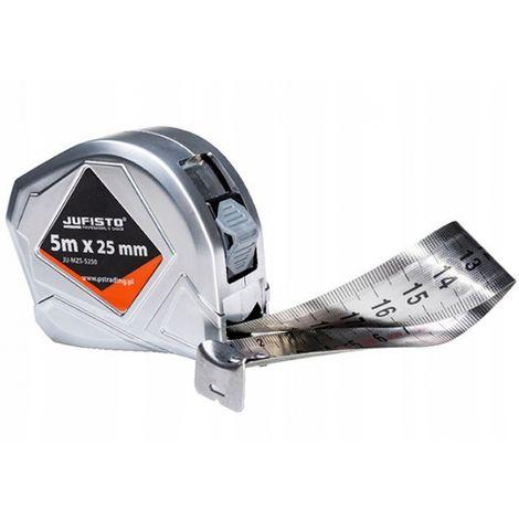 Tape measure 5 m / 25 mm measure meter inox tape