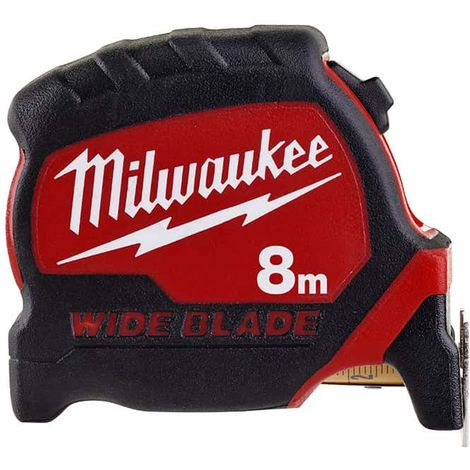 Tape Measure 8m MILWAUKEE - Wide Blade 33mm 4932471816