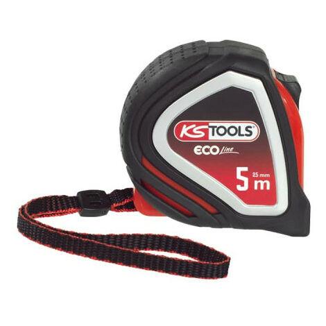 Tape measure KS TOOLS EcoLine - Tri-material - 5m x 25mm - 301.0115
