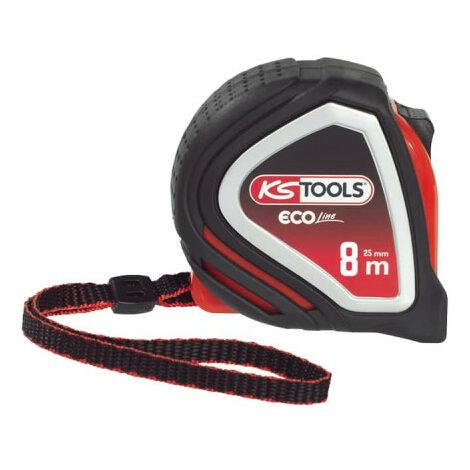 Tape measure KS TOOLS EcoLine - Tri-material - 8m x 25mm - 301.0116