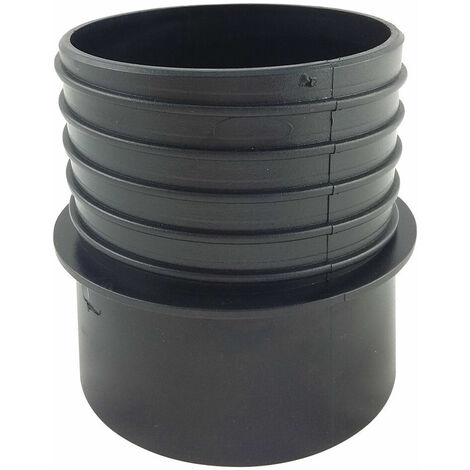 """Tapered Quick Connector 100mm (4"""") Diameter (Right Handed Hose)"""