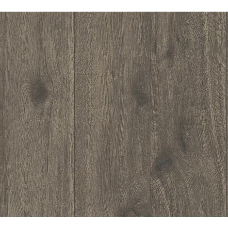 Tapete Vliestapete versch. Motive Holzoptik 0,53 x 10,05 m Weiß-grau