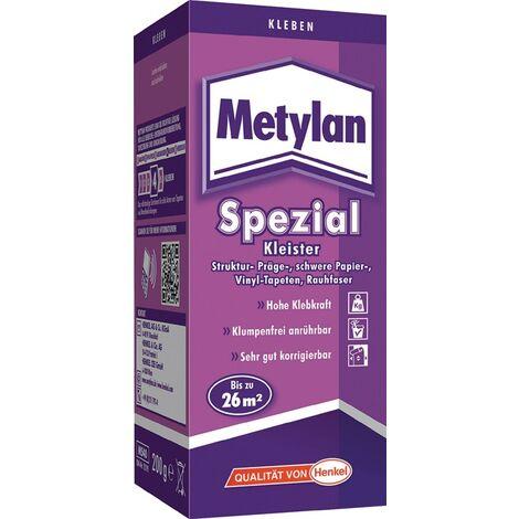 Tapetenkleister Spezial 200g Schachtel METYLAN