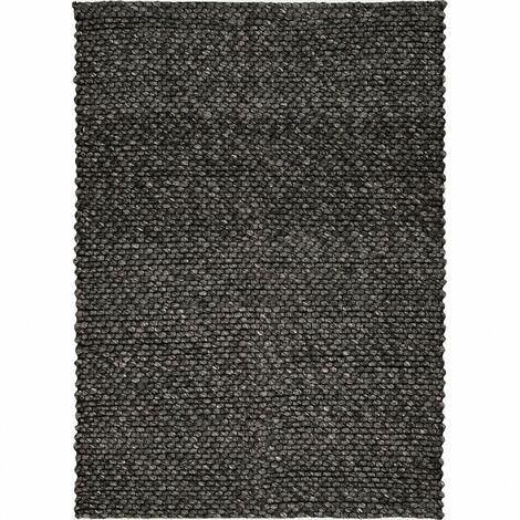 Tapis 160x230 cm gris foncé - Dolomite - gris