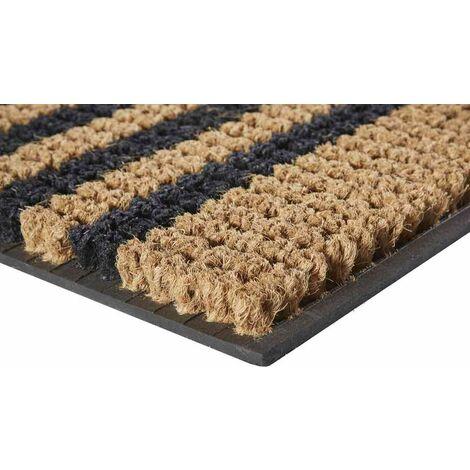 Tapis abrité brossant - riviera bordure - 75x45 cm
