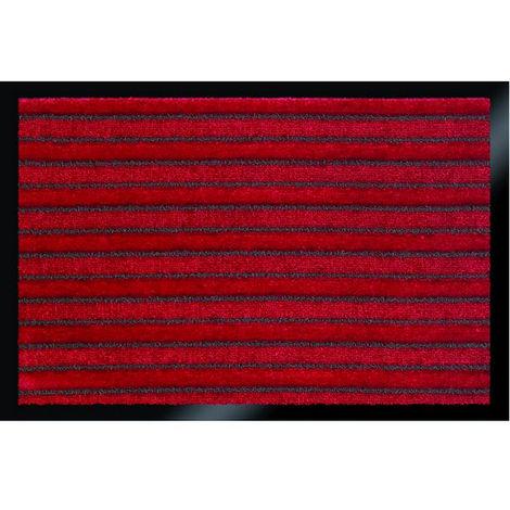 tapis absorbant 60x80cm bordeaux - briomat608003 - id mat