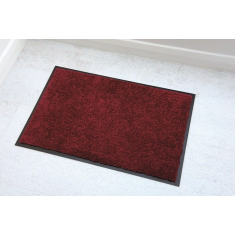 Tapis absorbant Vericlean Rouge 40x60cm
