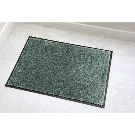 Tapis absorbant Vericlean Vert d'eau 40x60cm