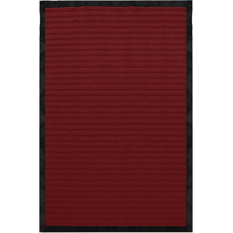 Tapis anti-poussière Tapis 60x90 rouge