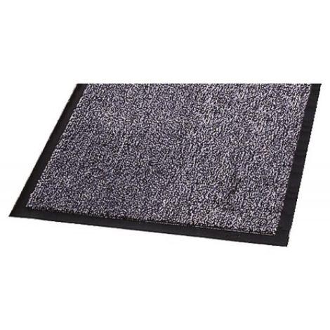 Tapis anti-poussière Welcome, coloris carbonne, dimensions 60 x 90 cm - Carbone - Carbone