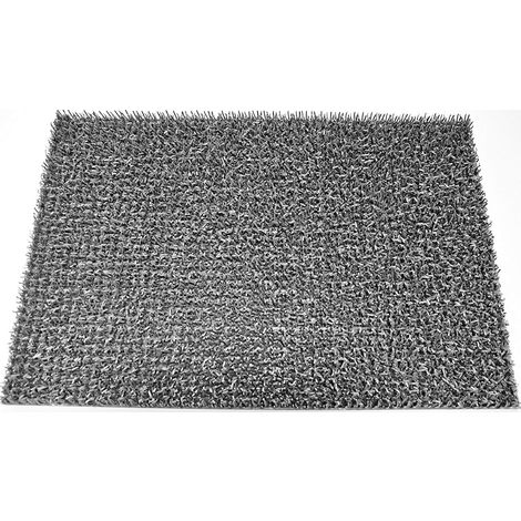Tapis Astroturf 40x60cm Gris argent
