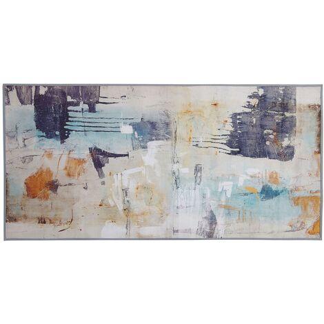 Tapis au motif abstrait 80 x 150 cm