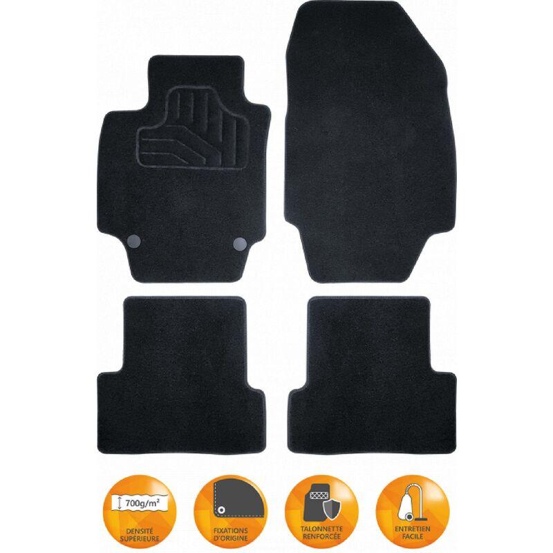 Incar - Tapis auto compatible avec Volkswagen Golf VII - Seat Leon III ap12