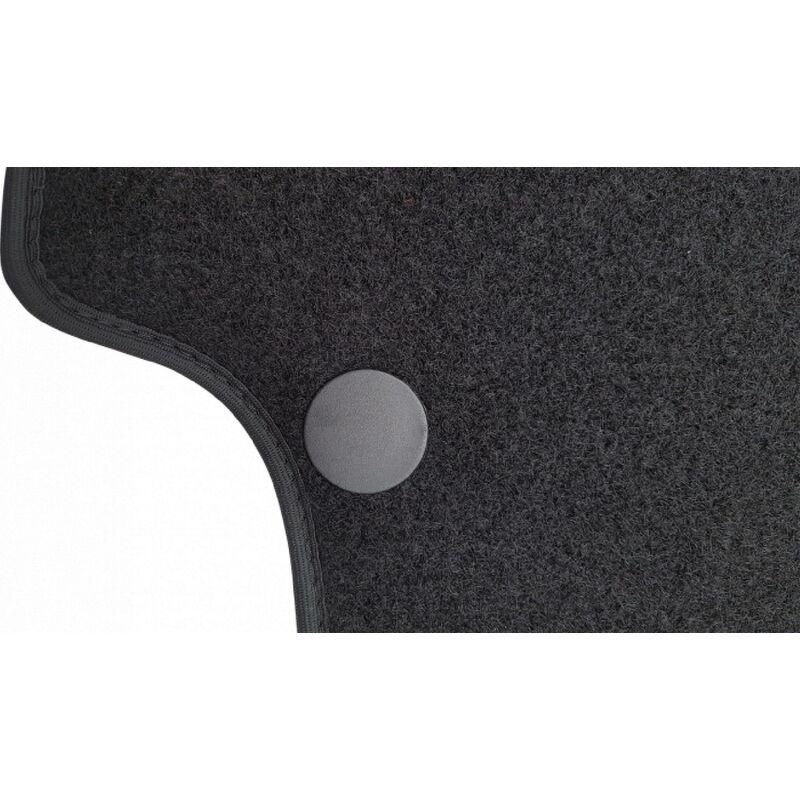 Incar - Tapis auto compatible avec Volkswagen Polo V -Seat Ibiza 09-17