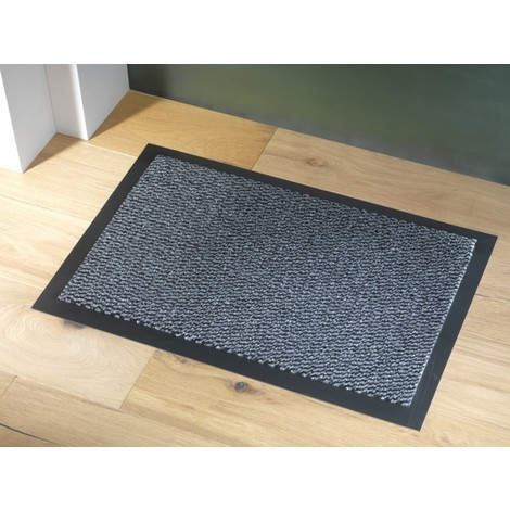 Tapis Bali gris anti-poussière 90x150cm