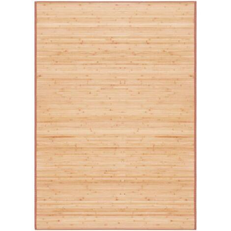 Tapis Bambou 120 x 180 cm Marron