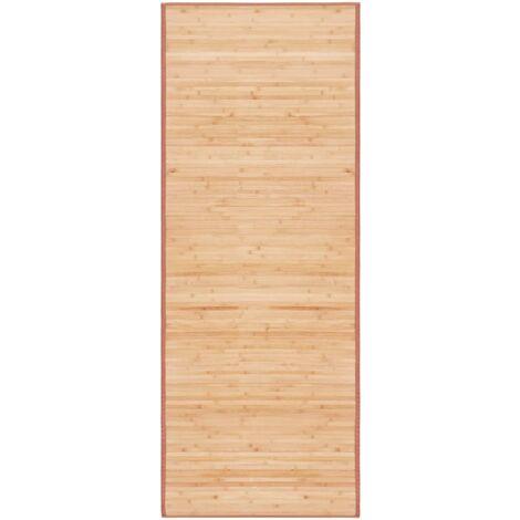 Tapis Bambou 80 x 200 cm Marron