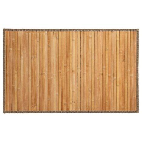 """main image of """"Tapis Bambou Latte 50x80cm Naturel"""""""
