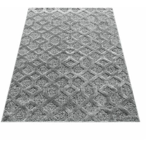Tapis BARETTE 80x250 Gris - Gris
