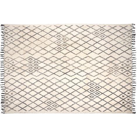 Tapis berbère en coton Masuna 200 x 300 cm