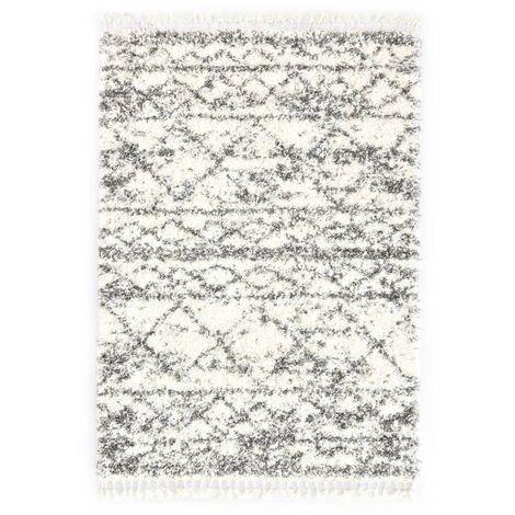 Tapis berbère PP Beige et sable 80x150 cm