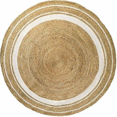 Tapis Blush rond ∅120cm - Beige