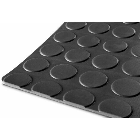 """main image of """"Tapis caoutchouc pastille 10m x 1,2m x 3mm noir MW-Tools RRNZ1200"""""""