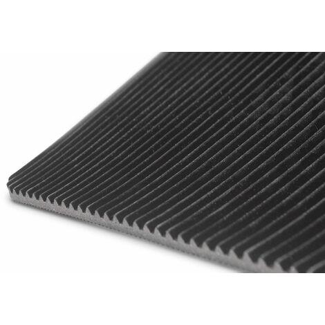 Tapis caoutchouc strié 1m x 1,2m x 3mm MW-Tools RRFR1200-1M