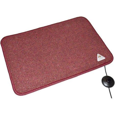 Tapis chauffant Arnold Rak Heat Master® 611257-B (L x l x h) 60 x 40 x 1.5 cm bordeaux 1 pc(s)