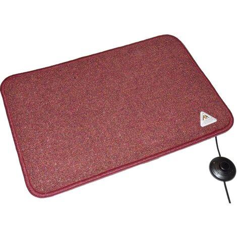 Tapis chauffant Arnold Rak Heat Master® 611259-B (L x l x h) 90 x 60 x 1.5 cm bordeaux 1 pc(s)