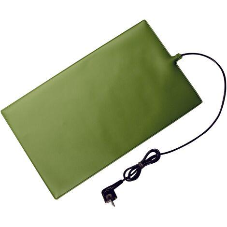 Tapis chauffant (L x l x H) 17 x 17 x 0.4 cm AccuLux ThermoLux 461265 vert S89947