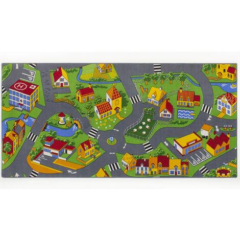 Tapis circuit Little Village -Tapis : 95 x 133 cm