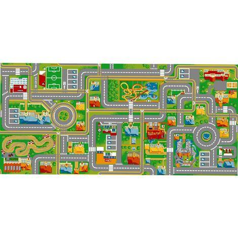 Tapis circuit voiture Play City-Tapis : 95 x 200 cm
