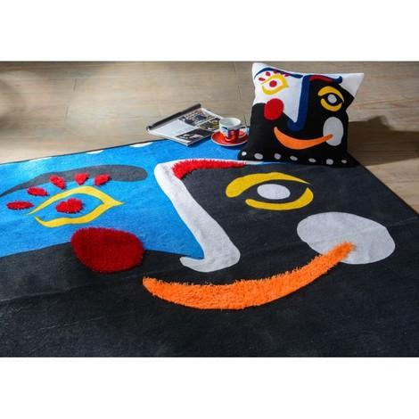 Tapis coloré Art déco CUBISME 120X180 cm
