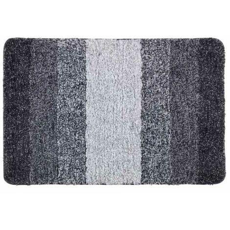 Tapis d.bain Luso gris, 60x90 Micropoly