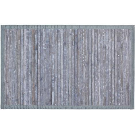 Tapis de bain Bambou 50x80cm gris WENKO