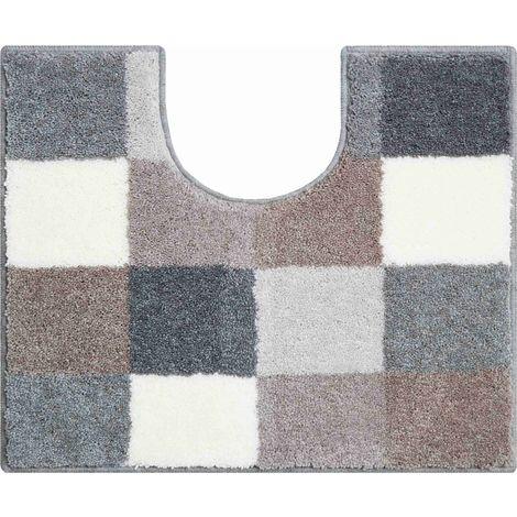 Tapis de bain BONA flannel contour wc 50 x 60 cm / Couleur: Flannel / Référence: b2747-006001297