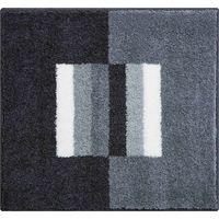 Tapis de bain CAPRICIO gris 55 x 60 cm / Couleur: Gris / Référence: b4109-062001096