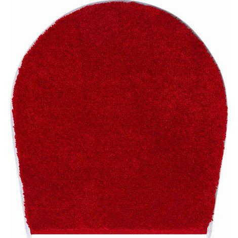 Tapis de bain CAPRICIO rubis housse pour abattant wc 47 x 50 cm / Couleur: Rubis / Référence: b4110-000003012