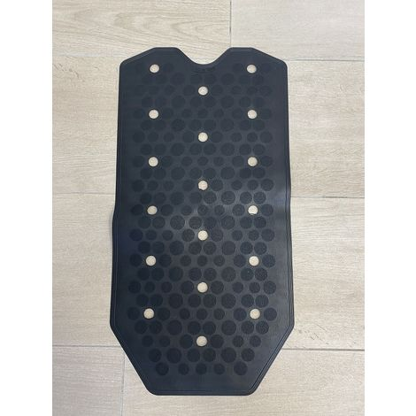 Tapis de bain et de douche antidérapant noir RIDAP Sissi 000483006   Noir