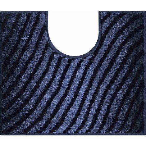 Tapis de bain ETRENITY anthracite contour wc 50 x 60 cm / Couleur: Anthracite / Référence: b2987-006001068