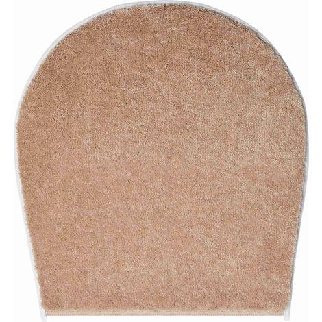 Tapis de bain FANTASTIC beige housse pour abattant wc 47 x 50 cm / Couleur: Beige / Référence: b4110-000003137