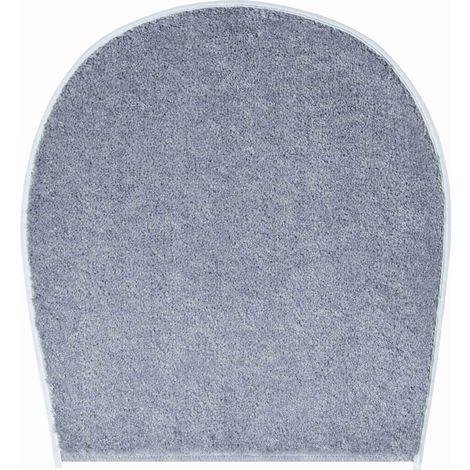 Tapis de bain FANTASTIC gris housse pour abattant wc 47 x 50 cm / Couleur: Gris / Référence: b4110-000003002
