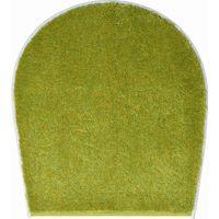 Tapis de bain FANTASTIC vert housse pour abattant wc 47 x 50 cm / Couleur: Vert / Référence: b4110-000003226
