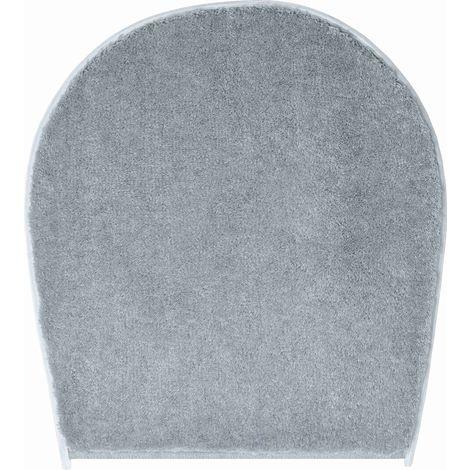 Tapis de bain FLASH anthracite housse pour abattant wc 47 x 50 cm / Couleur: Anthracite / Référence: b4112-000001003