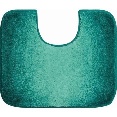 Tapis de bain MOON petrole contour wc 50 x 60 cm / Couleur: Petrole / Référence: b2605-006001310